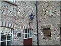 SO1533 : Police Lamp at Talgarth Town Hall by Fabian Musto