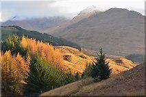 NN3724 : Afternoon sun, Glen Falloch by Jim Barton