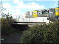 NZ3557 : Path under the metro, near South Hylton by Malc McDonald