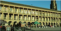 SE0925 : Piece Hall in Halifax, West Yorkshire by Peter Evans