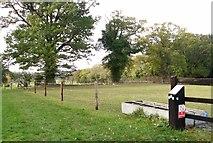 TG2403 : Permissive path on High Ash Farm by Evelyn Simak