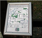 TG2403 : Map of the permissive paths on High Ash Farm by Evelyn Simak