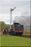 SD8022 : East Lancashire Railway - Western interloper by Chris Allen