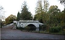TQ2077 : The Classic Bridge, Chiswick Gardens by David Howard