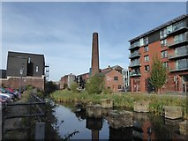 SK3588 : Looking from Kelham Square towards the Industrial Museum by Basher Eyre