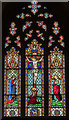 SK8025 : East window, St Mary Magdalene church, Waltham on the Wolds by Julian P Guffogg