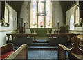SE3063 : St Wilfrid, South Stainly - Sanctuary by John Salmon