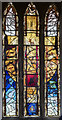 SK8025 : Stained glass window, St Mary Magdalene church, Waltham on the Wolds by Julian P Guffogg