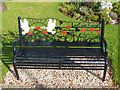 SO0451 : Memorial Seat (1), Builth Wells by Robin Drayton