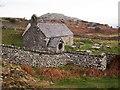 SH7573 : St Celynin's Church, Llangelynin by Chris Andrews
