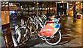 J3474 : Bikes and burritos (night view), Donegall Quay, Belfast (November 2018) by Albert Bridge
