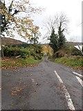 H9917 : The Lough Road junction on Glendesha Road by Eric Jones