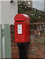 TG1022 : Georgian postbox on Norwich Road, Booton, Reepham by Ian S