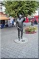 Q9933 : Statue of John B Keane by N Chadwick