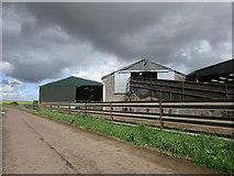 NS9740 : Farm buildings at Heatheryhall by Jonathan Thacker