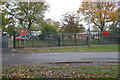 SK3678 : Holmesdale Infant School, The Avenue by Roger Templeman
