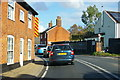 TM3660 : Heavy traffic grinds through Farnham by Christopher Hilton