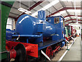 SD5029 : Ribble Steam Railway - fireless locomotive by Chris Allen