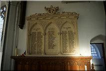 TG1022 : WW1 Roll of Honour, St Michael's Church, Reepham by Ian S