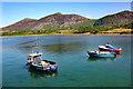 SH3747 : Boats in Trefor Harbour by Jeff Buck