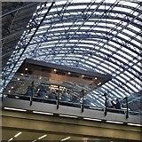TQ3083 : Champagne bar in St Pancras International by David Lally
