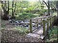 SO2827 : New footbridge at Cwm Bwchel by Christine Johnstone