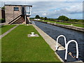 SE3530 : Fishpond Lock No 4 on the Aire and Calder Navigation by Mat Fascione