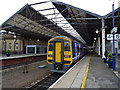 SE1416 : Huddersfield Railway Station by JThomas