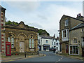 SD8263 : Former bank, Market Place, Settle by Robin Drayton