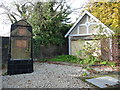 TQ1769 : Monument to Timothy Bennet, at Hampton Wick Gate by Christine Johnstone