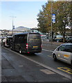 ST3088 : Gibbons Holidays vehicle, Queensway, Newport by Jaggery