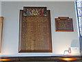 TL8683 : Thetford Grammar School WW2 Memorial by Adrian S Pye