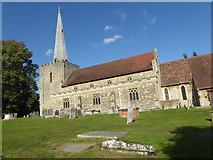 TQ6757 : St Mary's Church, West Malling by Marathon