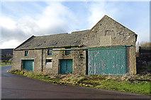 NJ1929 : Old Barn by Anne Burgess