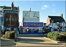TG5307 : Showboat on Marine Parade by Evelyn Simak