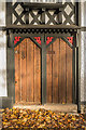 SO5174 : Door to Whitcliffe Lodge Cottage by Ian Capper