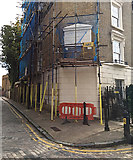 TQ3480 : Corner of Tower Buildings, corner of Brewhouse Lane, Wapping by Robin Stott