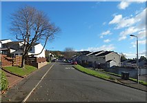 NS4175 : Barnhill Road, Dumbarton by Lairich Rig