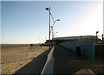 TG5307 : Approaching the Marina Centre on the esplanade by Evelyn Simak