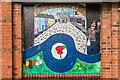 SO5174 : Mural #4, former Budgens, Upper Galdeford by Ian Capper