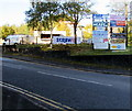 SO2701 : Business name signs, Estate Road, Pontnewynydd by Jaggery