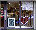 H4572 : Notice, Art @ Thee Plaice by Kenneth  Allen
