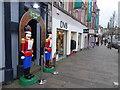 H4572 : Santa's Secret Grotto.High Street, Omagh by Kenneth  Allen