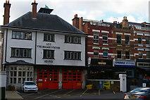 TQ2585 : Fire station, West End Lane, West Hampstead by Christopher Hilton