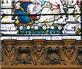 SJ8398 : Good Shepherd window dedication by Gerald England