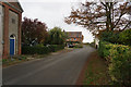 TG4023 : Heath Road, Hickling by Ian S