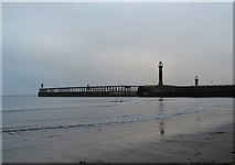 NZ8911 : On Whitby Sands by Neil Theasby