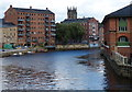 SE3033 : Calls Landing on the River Aire in Leeds by Mat Fascione