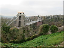 ST5673 : Clifton Suspension Bridge From Observatory Hill by Roy Hughes