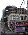 NS5865 : Sauchiehall Street fire damage by Thomas Nugent